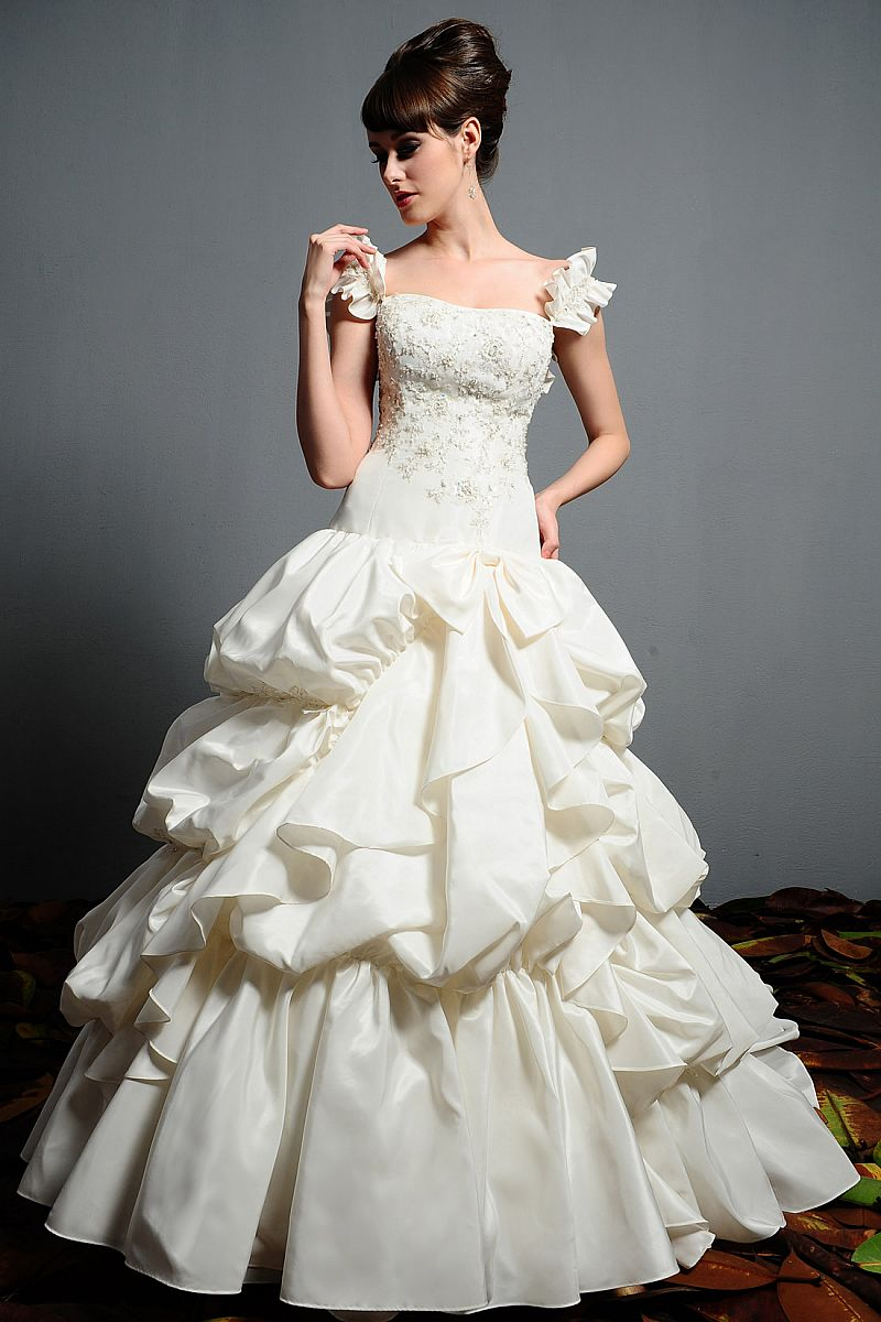 Wedding dress 0007shop for Second wedding dresses not white
